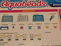 ( New ) Aquabead tray and accessories- no beads included