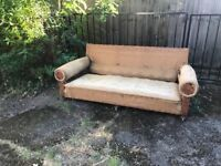 Sofa in need of complete referbishment