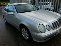 MERCEDES BENZ CLK 2.3 AVANTGARDE COUPE LEATHER ALLOYS AUTOMATIC 8 MONTHS MOT