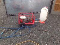 Petrol Honda pressure wash