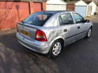 2002 Vauxhall Astra 1.6 i LS 5dr (a/c) Automatic @07445775115