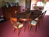 Beautiful Mahogany Dining room suite