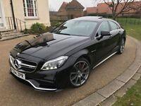 2015 Mercedes CLS 63 AMG S 5.5 Bi-Turbo V8 Sports Sedan Saloon Black *FSH, HIGH SPEC, VAT QUALIFYING