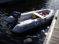 Avon 310 Dinghy, 6hp Yamaha Outboard