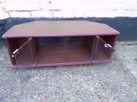 Small Wood TV Stand Delivery Available