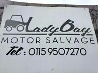 cars wanted for scrap we are dvla registered we also sell used car parts location near trentbridge