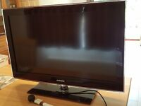 """37"""" Samsung LE37B551A6W LCD HD TV with manual and remote"""