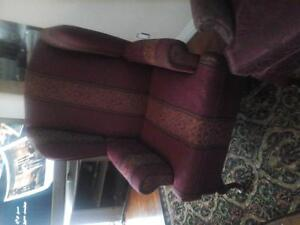 high wing back ex condition