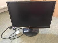 "LG 19"" widescreen computer monitor"