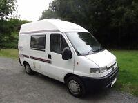 Eurocruiser 2 berth campervan with end kitchen for sale