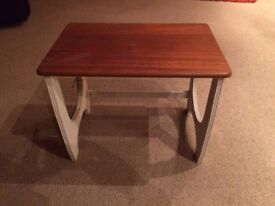 SMALL COFFEE TABLE/OCCASIONAL TABLE - SHABBY CHIC