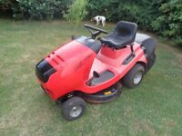 """Ride on lawnmower Alko T750r 30"""" rear collect recently serviced."""