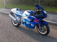 Suzuki gsxr 600 srad px welcome