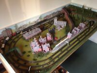 Immaculate oo gauge model railway layout