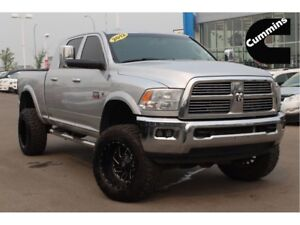 2012 Ram 3500 Laramie| Cust Rims/Tires/Lift| Sun| H/C Leath|