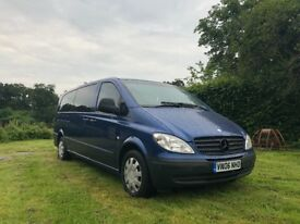 Mercedes Vito 115cdi XLONG, 8 seats, manual