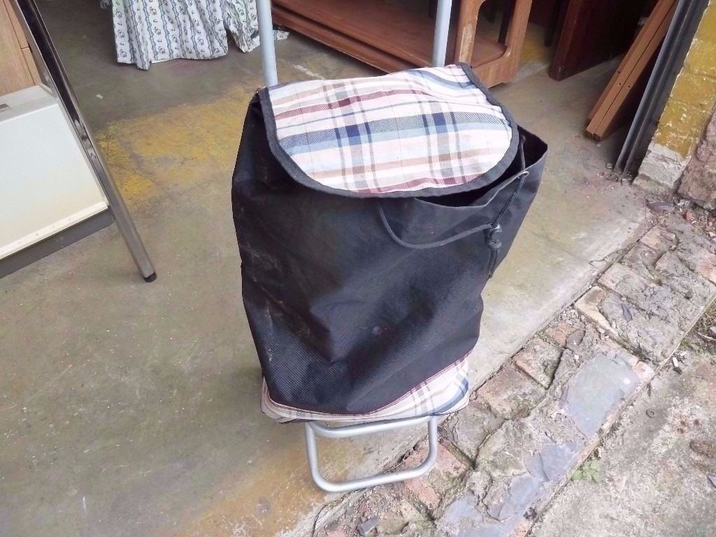 2 Wheel Shopping Bag Trolley Delivery available£5