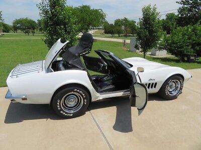 1969 Chevrolet Corvette Stingray Convertible 1969 Chevrolet Corvette Stingray 350 4-speed Convertible