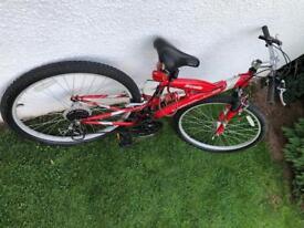 Men's Apollo Excelle dual suspension mountain bike
