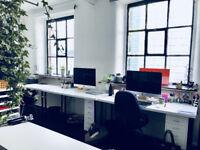 2 Desks space for rent in a Creative Studio in MONE Mcr City Centre