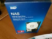 New hard drive WD 3TB