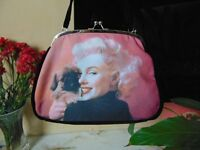 Marilyn Monroe Purse Style Large Handbag
