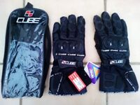 CUBE Motorcycle winter gloves size L new with tags.