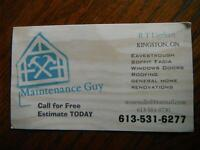 Eavestrough Specialist *** Quality Work + Competitive Pricing **