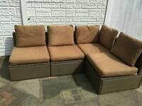 Ikea arholma rattan garden furniture