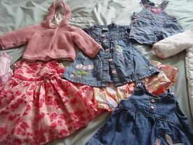 BABY CLOTHES BUNDLE (3-6 MTHS) - GIRLS