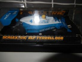 Scalextric F1 Elf Tyrrell 008 In as new condition with original case.