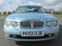 ROVER 75. 2.0 DIESEL MOT TILL 18th AUGUST 2017 LOVELY CONDITION