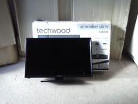 "Techwood 32"" hd ready led TV 32AO2B."