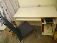 Desk and chair - FREE