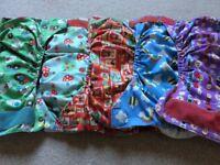 Reusable nappies - nursery rhymes