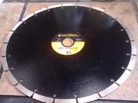 "12"" Diamond blade for concrete. Brand new."