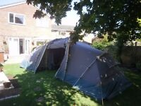 Khyam quick erect Ridgi-Dome Tourer 400 Tent