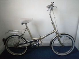 Vintage foldable bicycle. Decent state.