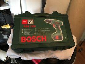 Bosch 12v PSR 1200 Cordless drill in case