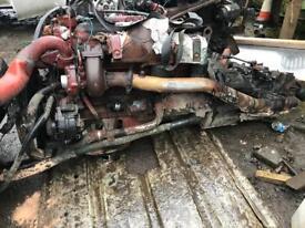 Iveco engine gear box 75e15