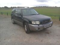2003 Subaru forester 20X all weather 4X4 hi and low box ready for winter