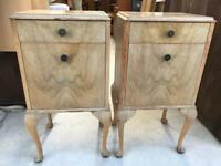 Pair retro bedsides FREE DELIVERY PLYMOUTH AREA