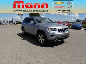 2015 Jeep Grand Cherokee Limited-Leather, Keyless Entry, Rear Vi