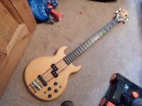 Vintage 1970's made an Japan K/Cort bass guitar