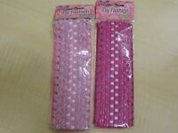 2 X PINK HEADBANDS - KIDS SIZE - NEW IN PACKAGING