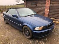 BMW 325i Spares/repair