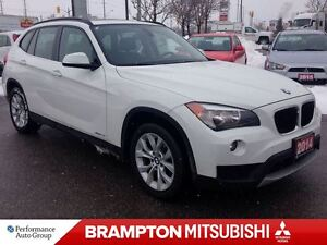 2014 BMW X1 xDrive28i (PANORAMIC ROOF! LEATHER INTERIOR!)