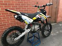 2018 Pitbike, M2R 160 pit bike excellent condition not 140 not 125cc