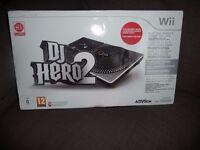 WII DJ HERO2 TURNTABLE BUNDLE