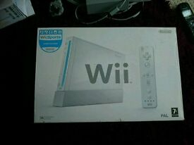 Wii console, loads of games and accessories